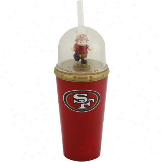 San Francisco 49ers Cardinal Red Wind-up Masco5 Cup