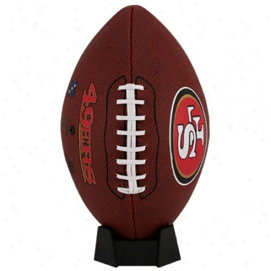 San Francisco 49ers Full-size Game Time Football