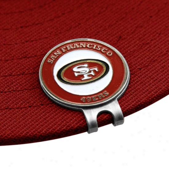 San Francisco4 9ers Golfer's Hat Clip & Ball Markers