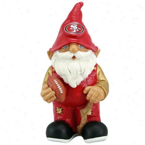San Francisco 49ers Mini Football Gnome Figurine