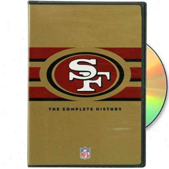 San Francisco 49ers The Complete History Dvd