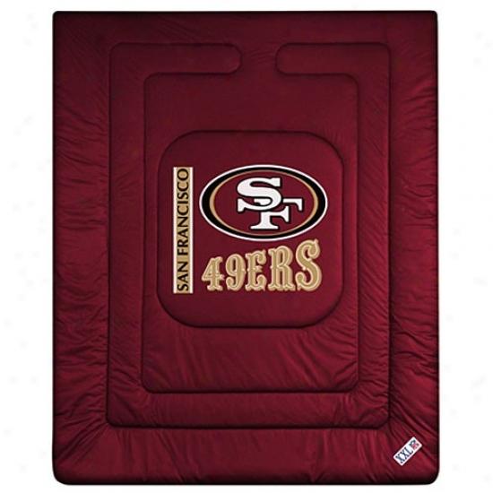 San Francisco 49ers Twin Size Locker Room Comfortsr
