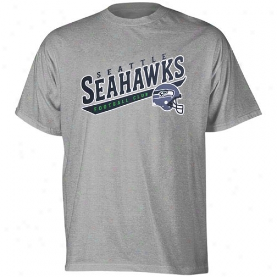 Seahawk Apparel: Reebok Seahawk Ash The Call Is Tails T-shhirt
