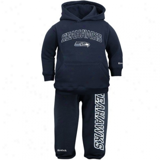 Seahawk Stuff: Reebok Seahawk Babe Ships of war Blue Pullover Hoody And Sweatpants Set