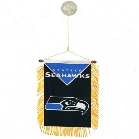 Seattle Sea Hawk Flag : Seattle Sea Hawk Team Mini Flag Flag