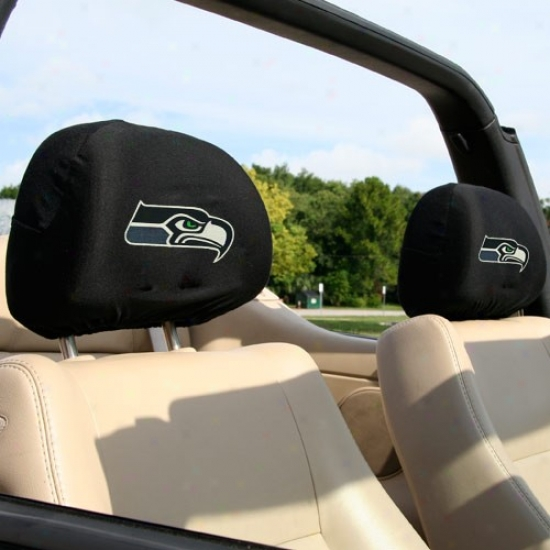Seattle Seahawks 2-pack Headrest Covers