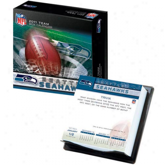 Seattle Seahawks 2011 Boxed Team Calendar