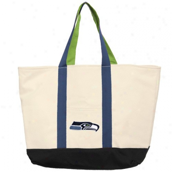 Seattle Seahawks Canvas Tote Bag