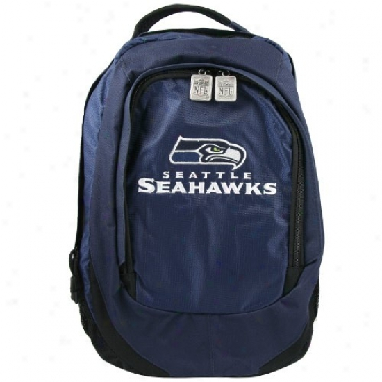 Seattle Seahawks Embroidered Team Logo Backpack