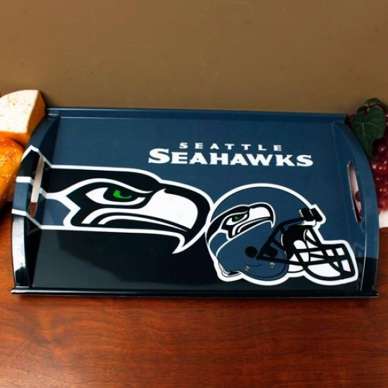 Seattle Seahawks Meelamine Serving Tray