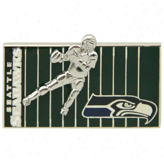 Seattpe Seahawks Merchandise: Seattle Seahawks 3d Football Performer nO The Field Pin
