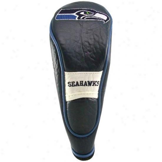 Seattle Seahawks Navy Blue-white Hybrid Headcover