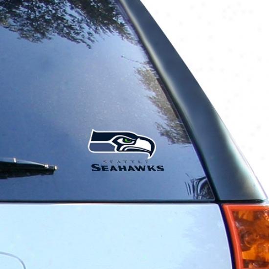 Seattle Seahawks Small Window Cling