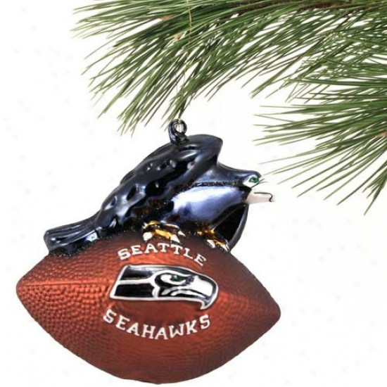 Seattle Seahawks Team Spirti Ornament