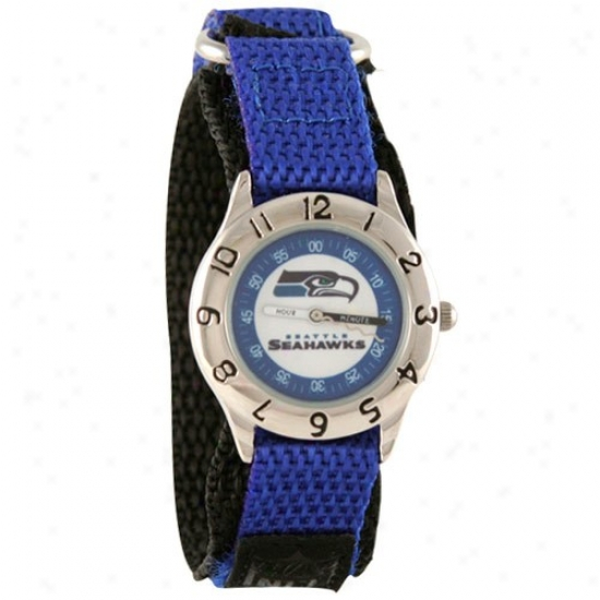 Seattle Seahawks Watches : Seattle Seahawks Youth Pacific Pedantic  Time Teacher Watches