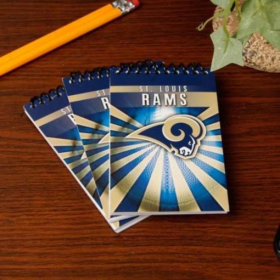 St. Louis Rams 3-pack Memo Books