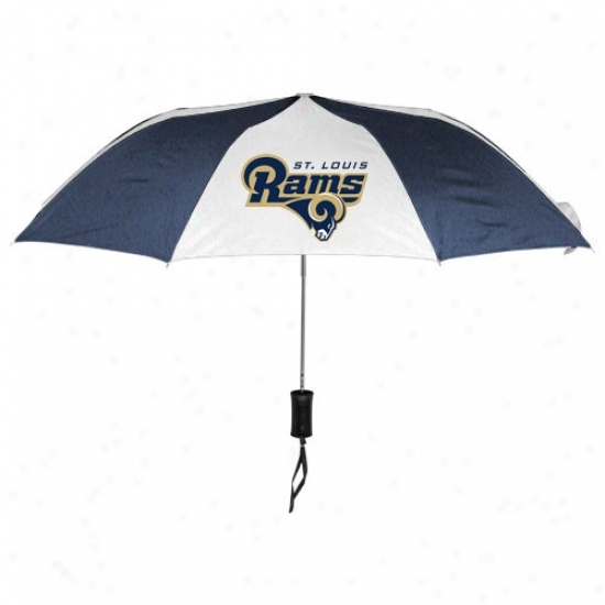 St. Louis Rams 42'' Folding Umbrella