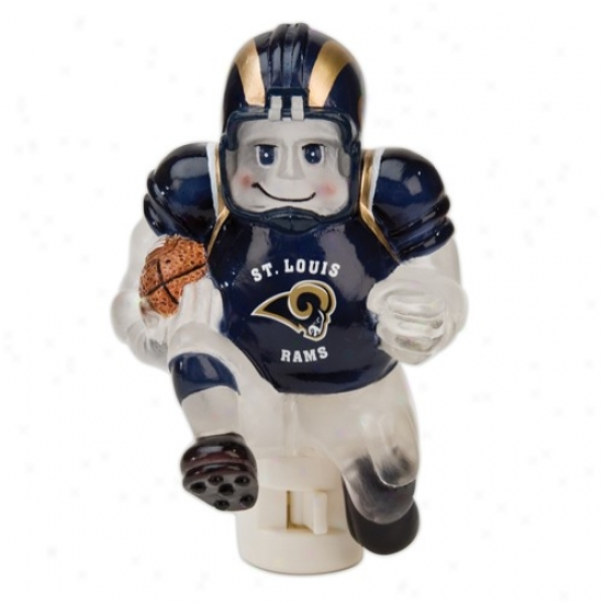 St. Louis Rams 5-inch Running Back Darkness Light