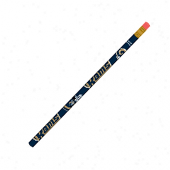 St. Louis Rams 6-pack Pencils