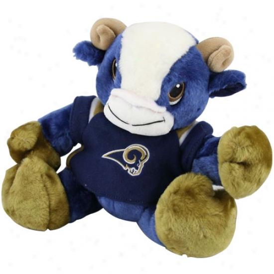 """st. Loui Rams 9"""" Plussh Mascot"""