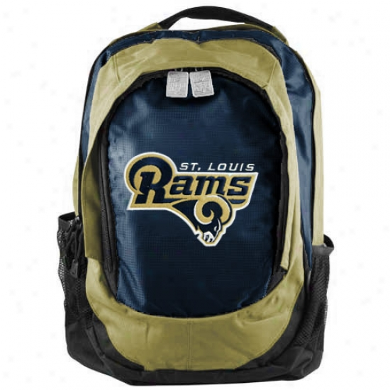 St. Louis Rams Embroidered Team Logo Backpack