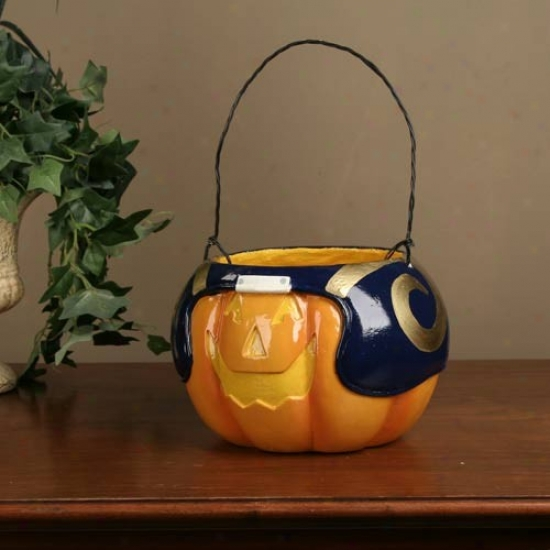 St. Louis Rams Halloween Pumpkin