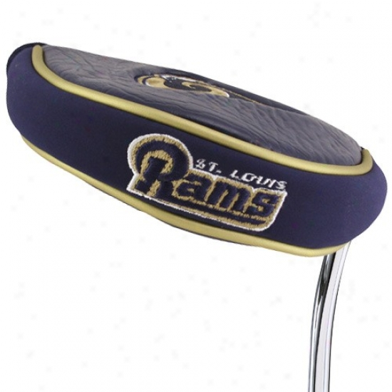 St. Louis Rams Mallet Putter Cover