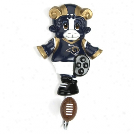 St. Louis Rams Mascot Wall Hook