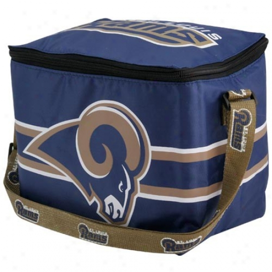 St. Louis Rams Navy Blue Insulated Lunch Bag