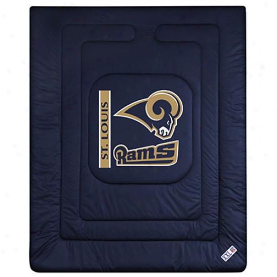 St. Louis Rams Queen/full Size Locker Room Comforter