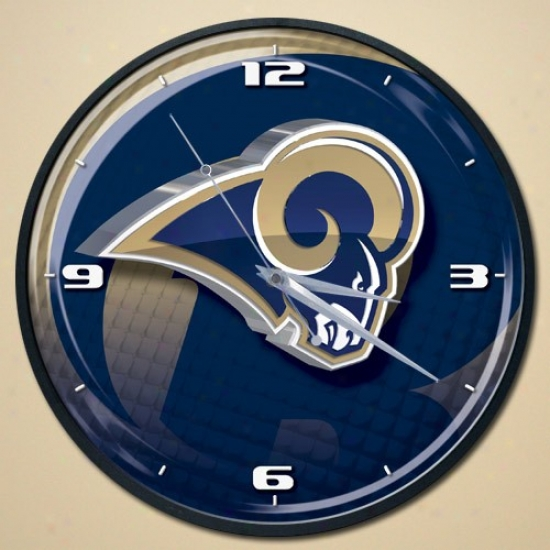St. Louis Rams Wall Clock