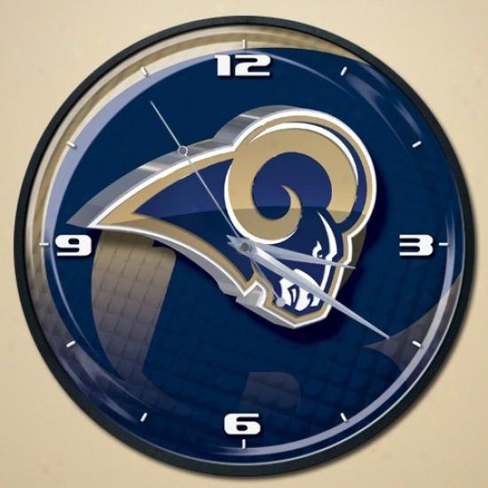 St. Louis Rams Wall Clock