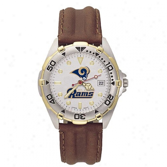 St. Louis Rams Watches : St. Louis Rams Men's All Star Watches W/leather Band
