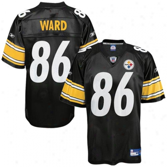 Steeler Jerseys : Reebok Nfl Equipment Steeler #86 Hines Ward Black Replica Football Jerseys