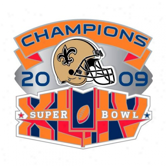 Super Bowl Cap Cap : New Orleans Saints Super Bowl Xliv Champions Collectible Pin