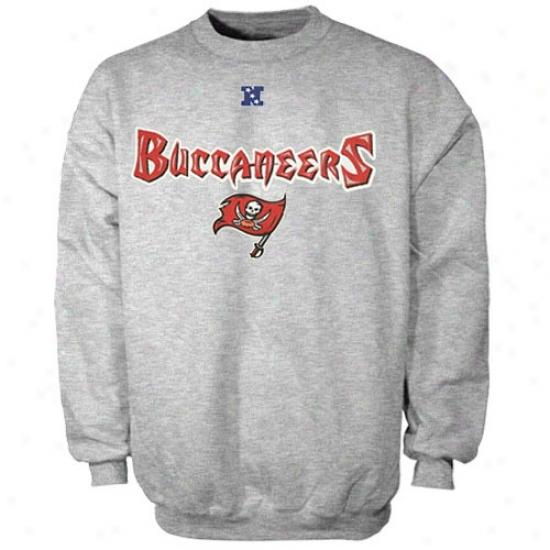 Tampa Bay Buccaneer Hoodie : Tampa Bay Buccaneer Ash Critical Victory Iii Crew Hoodie