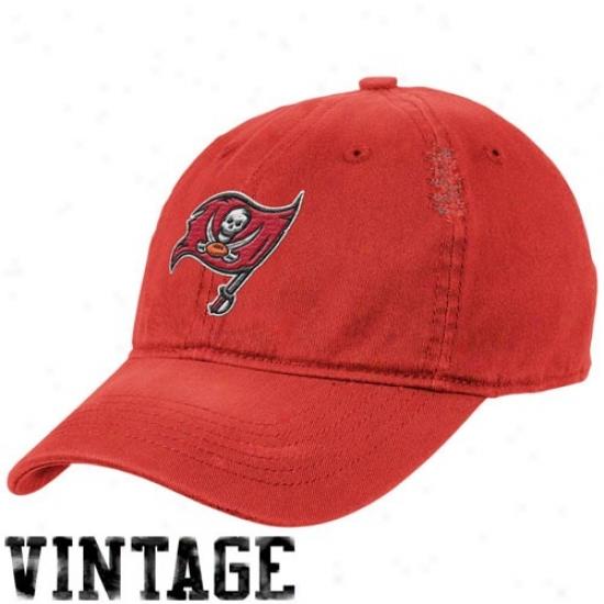 Tampa Bay Buccaneed Merchandise: Reebok Tampa Bay Buccaneer Rec Heat Flex Be proper Vintage Hat