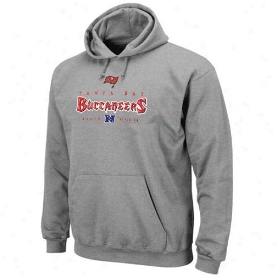 Tampa Bay uBccaneer Stuff: Tampa Bay Buccaneer Ash Dangerous Victory Iv Hoody Sweatshirt