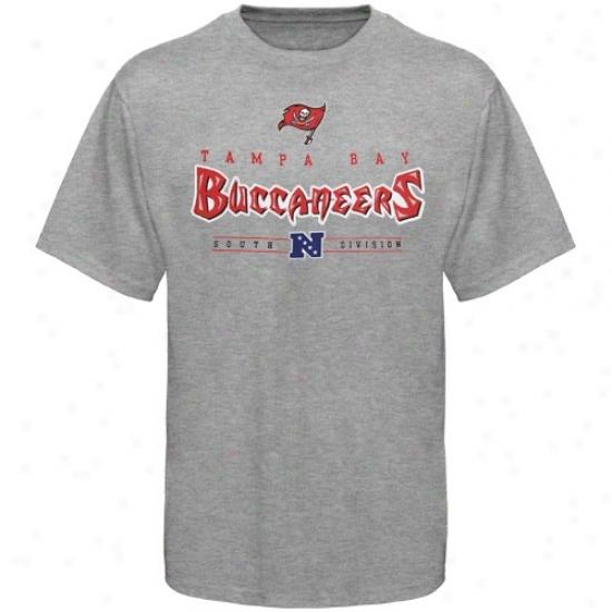 Tampa Bay Buccaneer Tshirts : Tampa Bark Buccaneer Steel Gray Critical Victory Tshirts