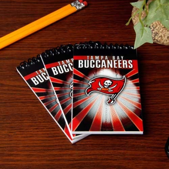 Tampa Bay Buccaneers 3-pack Memo Books