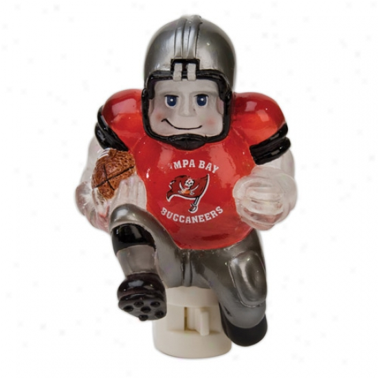 Tampa Bay Buccaneers 5-inch Running Remote Night Light