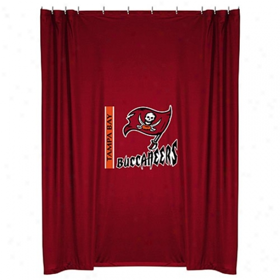 """tampa Desperation Buccaneers 72""""x72"""" Shower Curtain"""