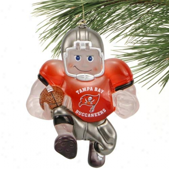Tampa Bay Buccaneers Acrylic Halfback Ornament