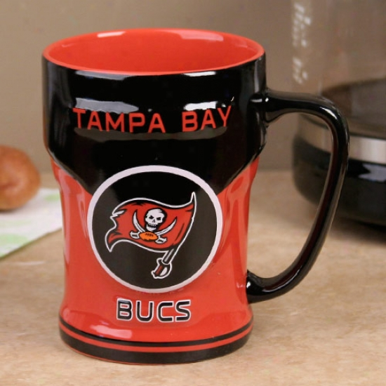 Tampa Bay Buccaneers Dark 12oz. Sideline Sculpted Mug