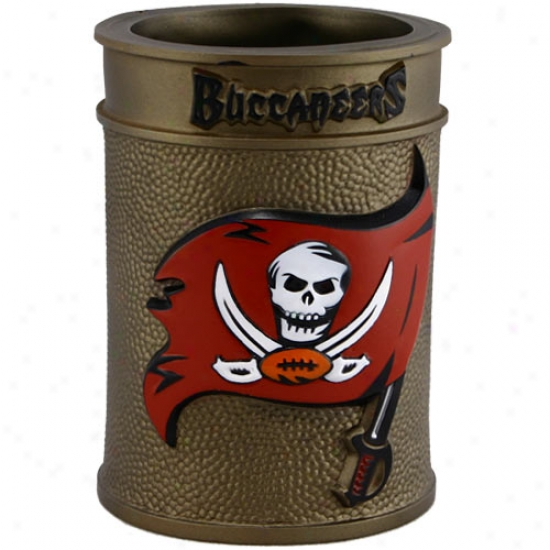 Tampa Bay Buccaneers Embossed Plastic Can Coozie