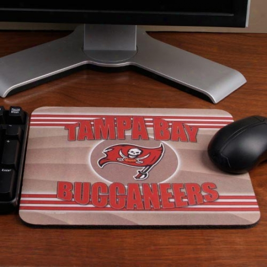 Tampa Bay Buccaneers End Zone Mousepad