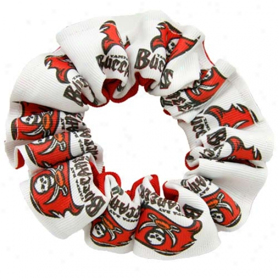 Tampa Bay Buccabeers Hair Scrunchie