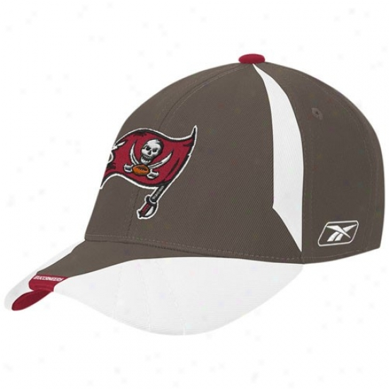 Tampa Bay Buccaneers Hats : Reebok Tampa Bay Buccaneers Youth Pewter Flex Fit Hats