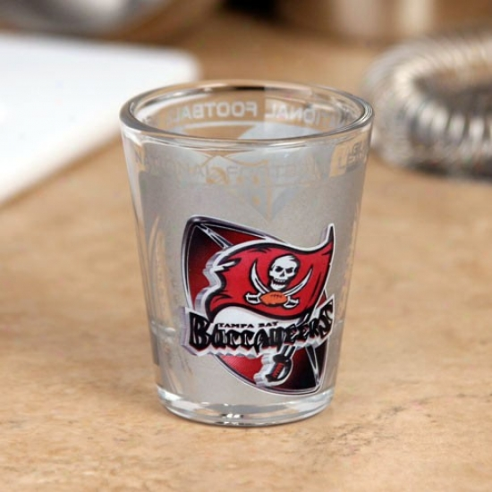 Tampa Bay Buccaneers High Definition Shot Glass