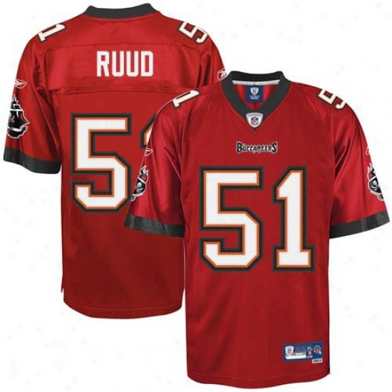 Tampa Bay Buccaneers Jerseys : Reebok Barrett Rhud Tampa Bay Buccaneers Replica Jerseys - Red